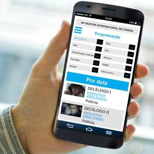 Aplicativo tem informações sobre filmes e salas