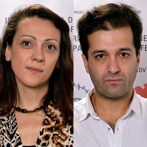"""Melissa Dullius e Gustavo Jahn, diretores de """"Muito Romântico"""""""