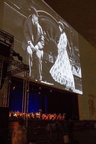 Área externa do Auditório Ibirapuera - Cerimônia de Encerramento da 40ª Mostra