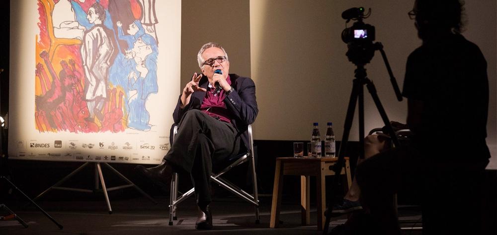 """Marco Bellocchio no Memórias do Cinema: """"a ideia de política que eu vivi aos 20 anos hoje é inv..."""