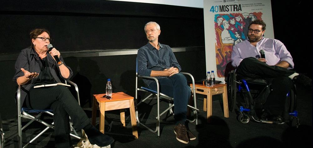 Roteiristas fazem intercâmbio em debate da 40ª Mostra